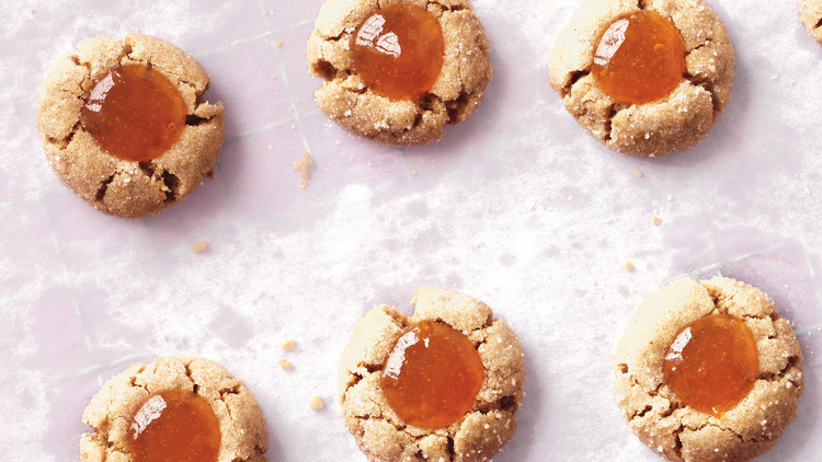 Apricot Almond Refrigerator Cookies